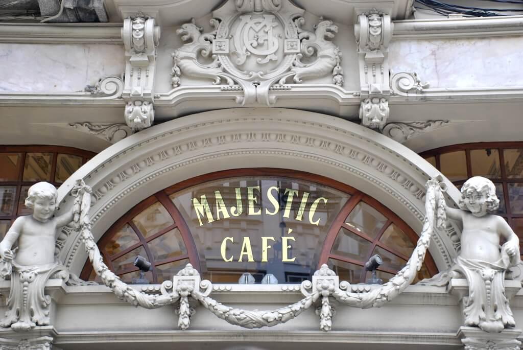 oporto café majestic