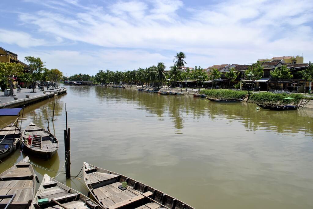 río thu bon Hoi An