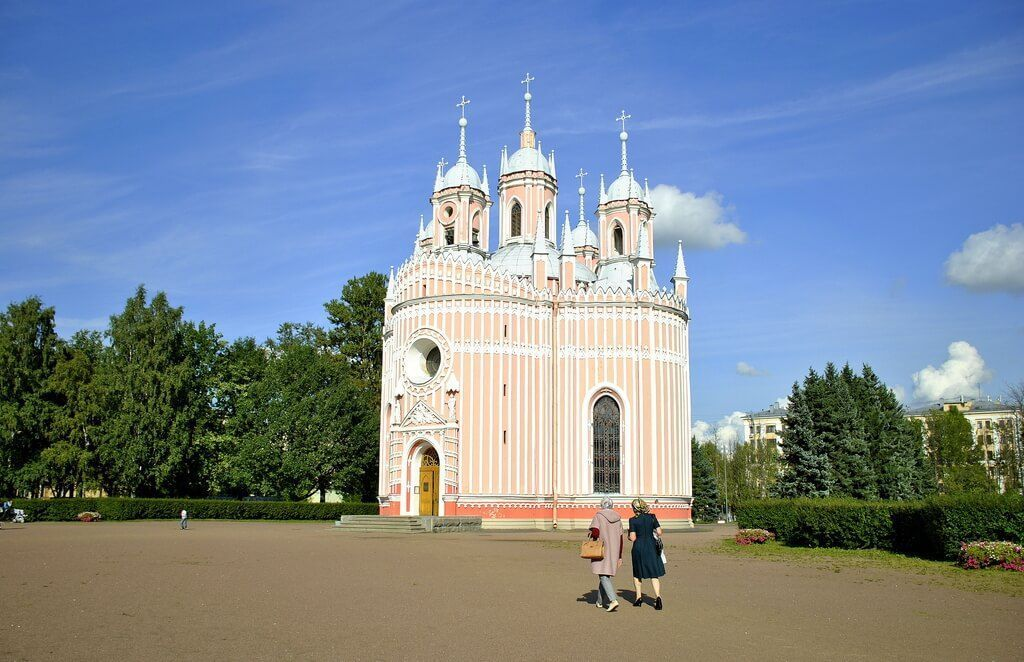 la iglesia de chesme, San Petersburgo