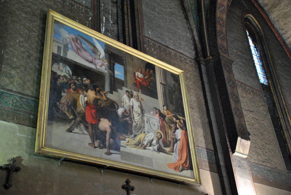 interior notre dame du Taur, Toulouse