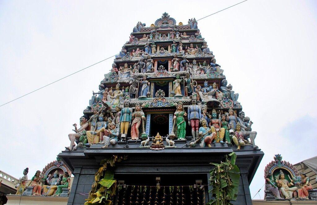 templo Sri Mariamman, Singapur