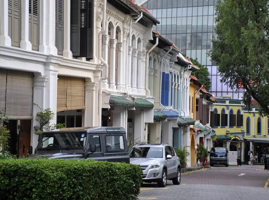 barrio colonial de Singapur