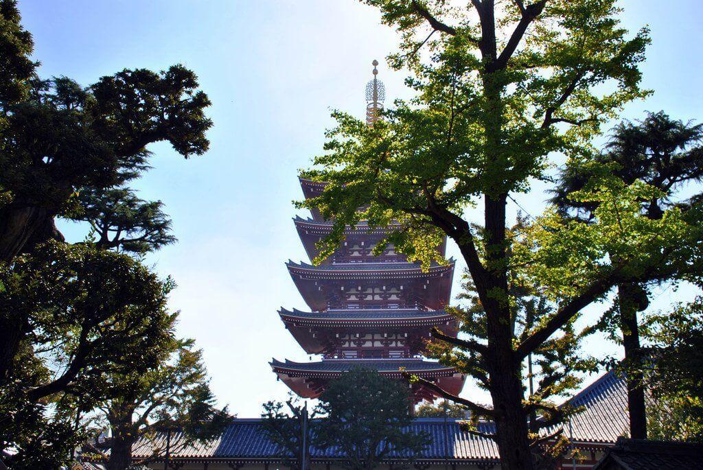 pagoda del Templo Senso- Ji