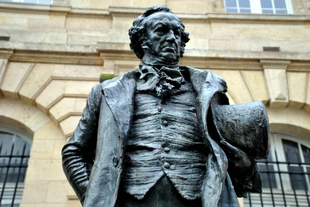 Estatua de Goya en Burdeos