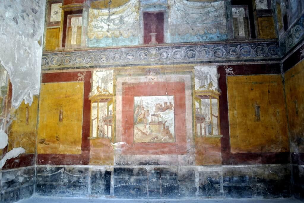Casa del poeta trágico, Pompeya