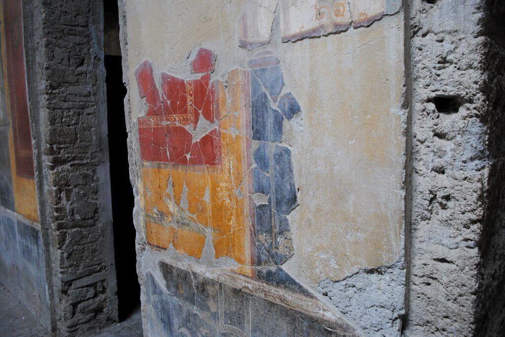 casa del Meandro, Pompeya
