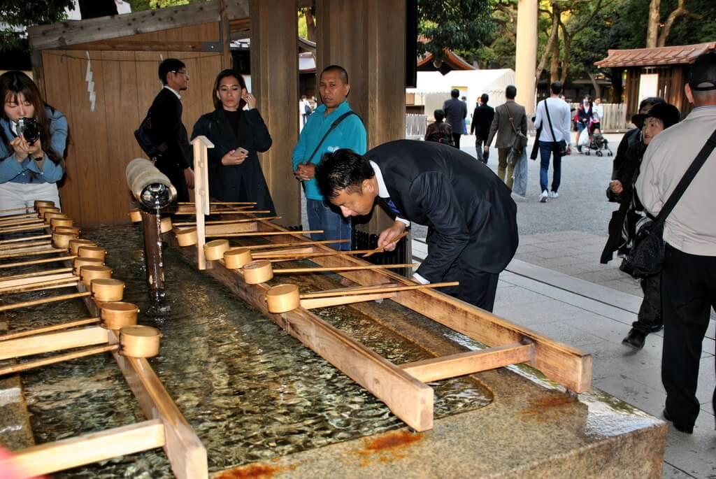Santuario Meiji, Harajuku