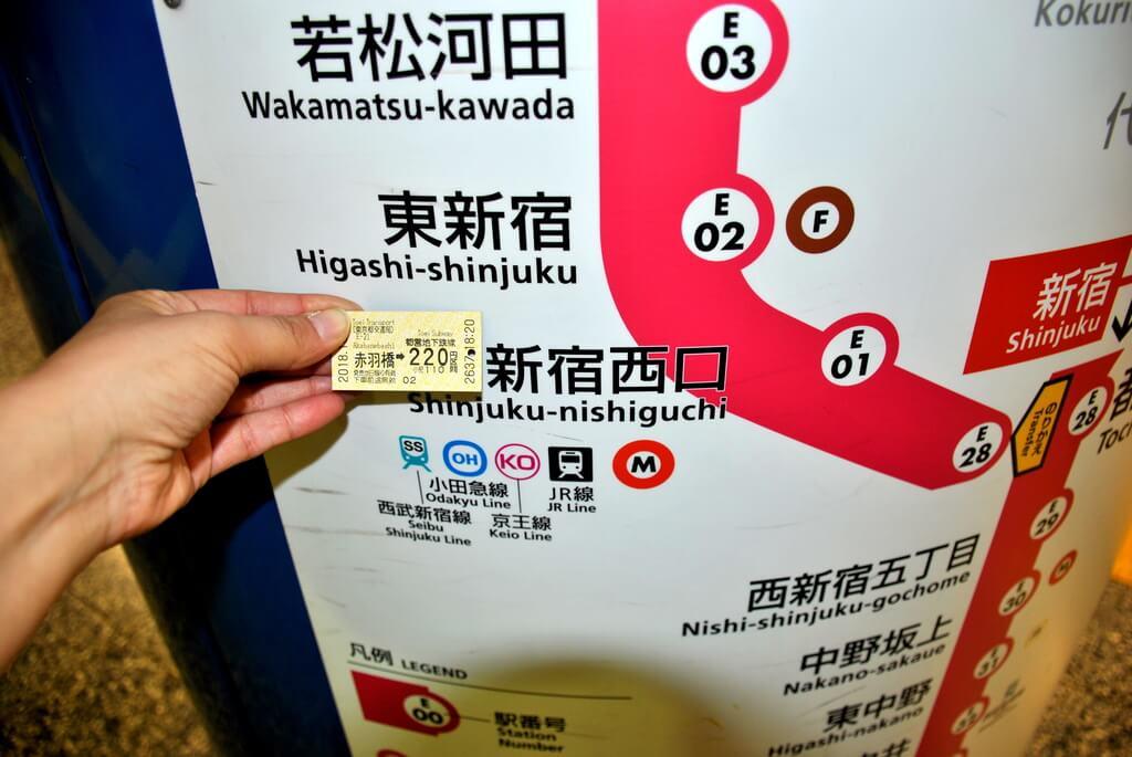 Estación de shinjuku, Tokio
