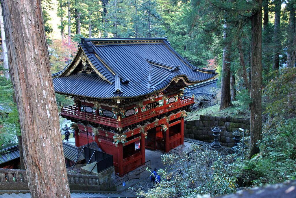 Templo Taiyuin, nikko