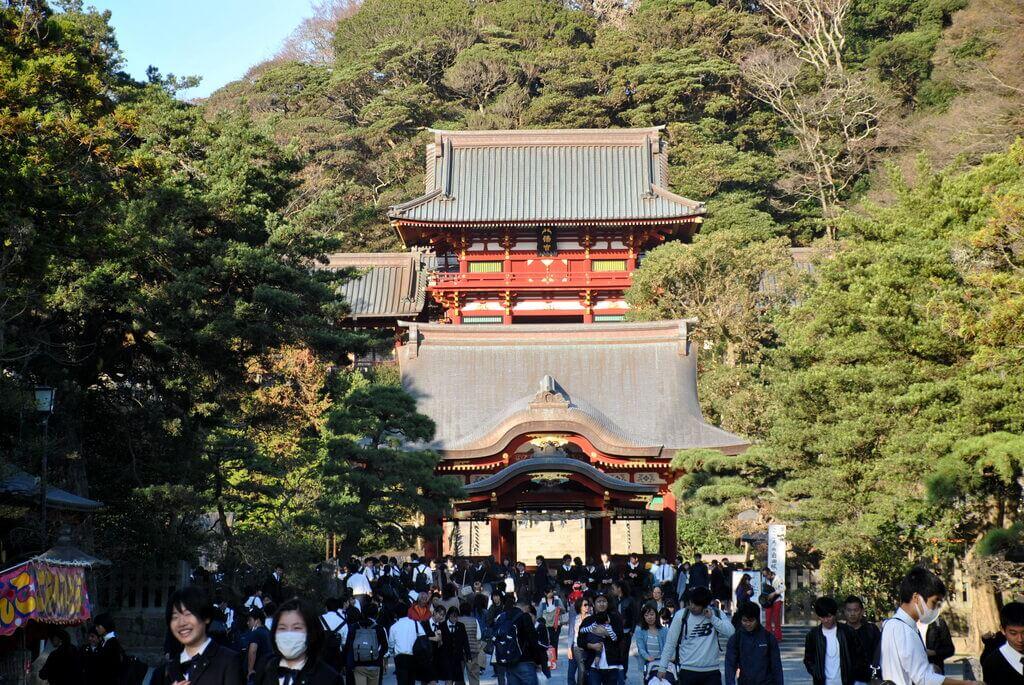 Santuario Tsurugaoka, Kamakura