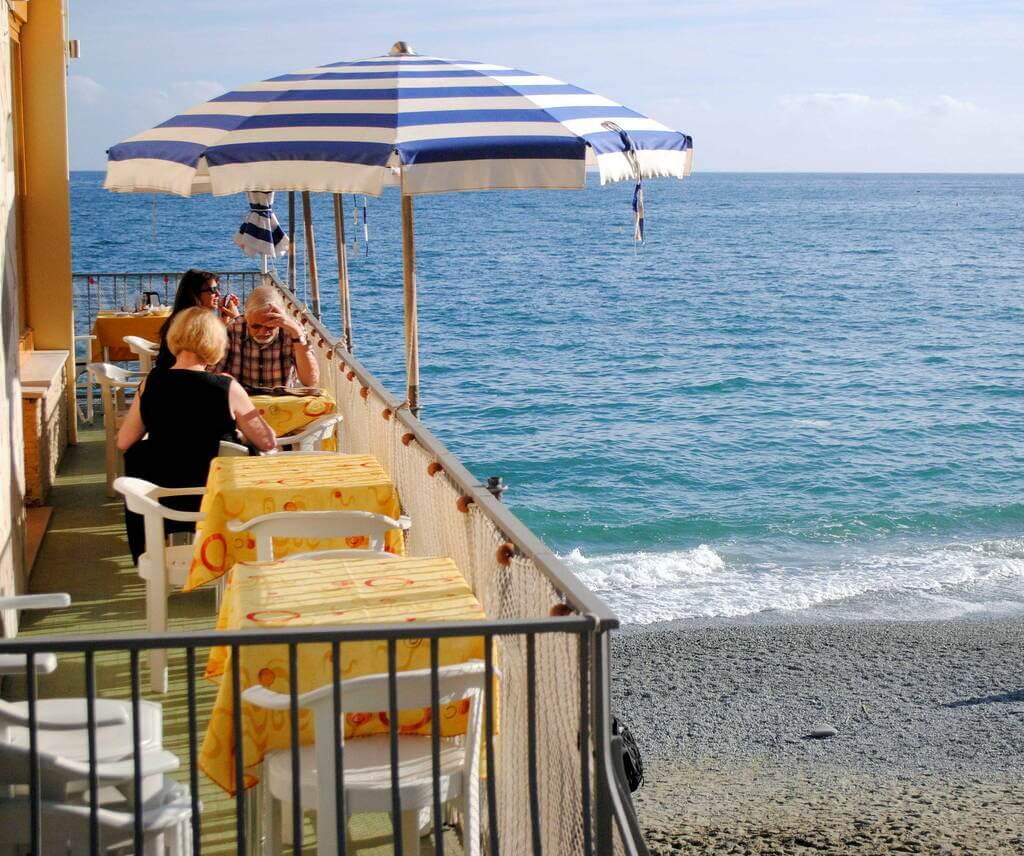 Playa de Fegina, Monterosso al Mare