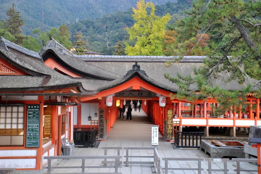 Santuario Itsukushima, Isla de Miyajima