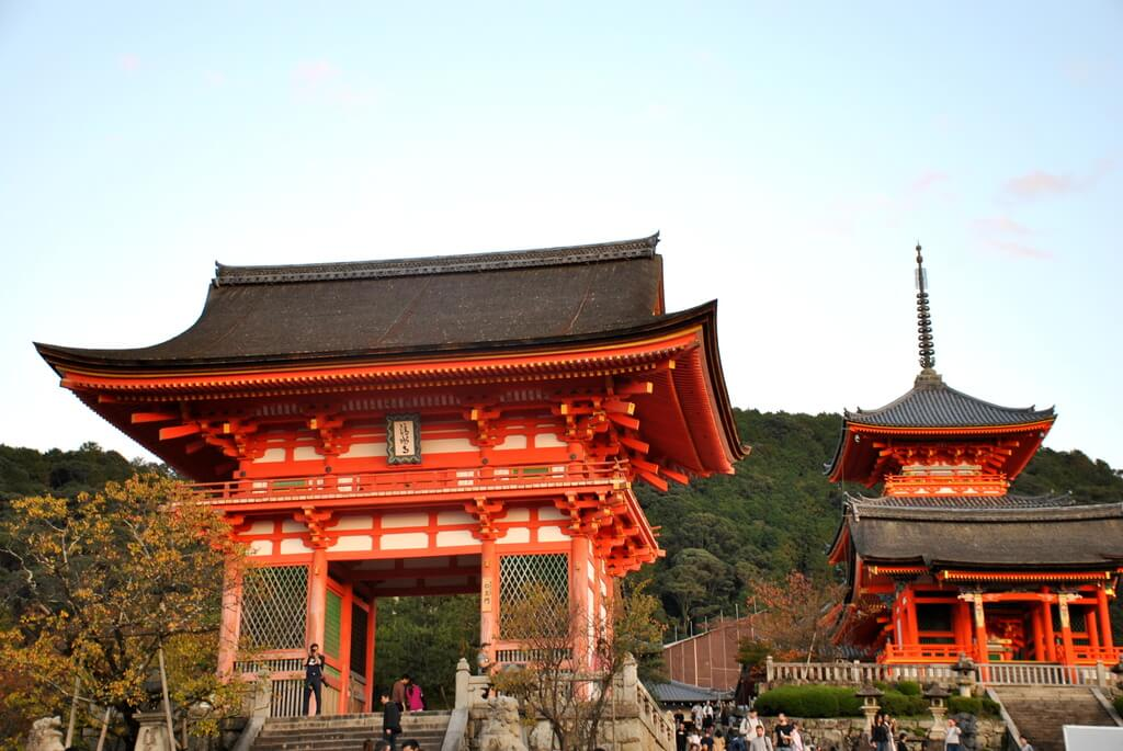Templo kiyomizu Dera