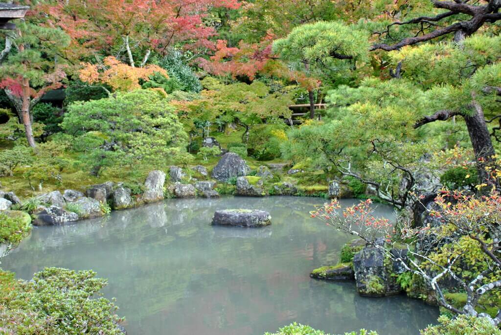 Templo Ginkaku-Ji, este de Kioto