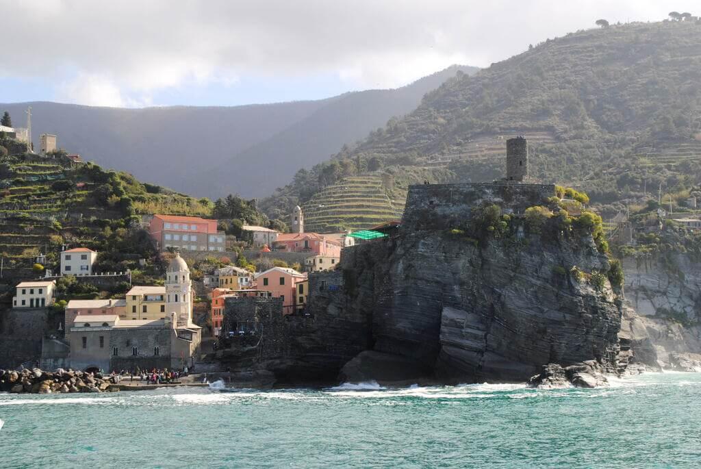 Castillo de los Doria, Vernazza
