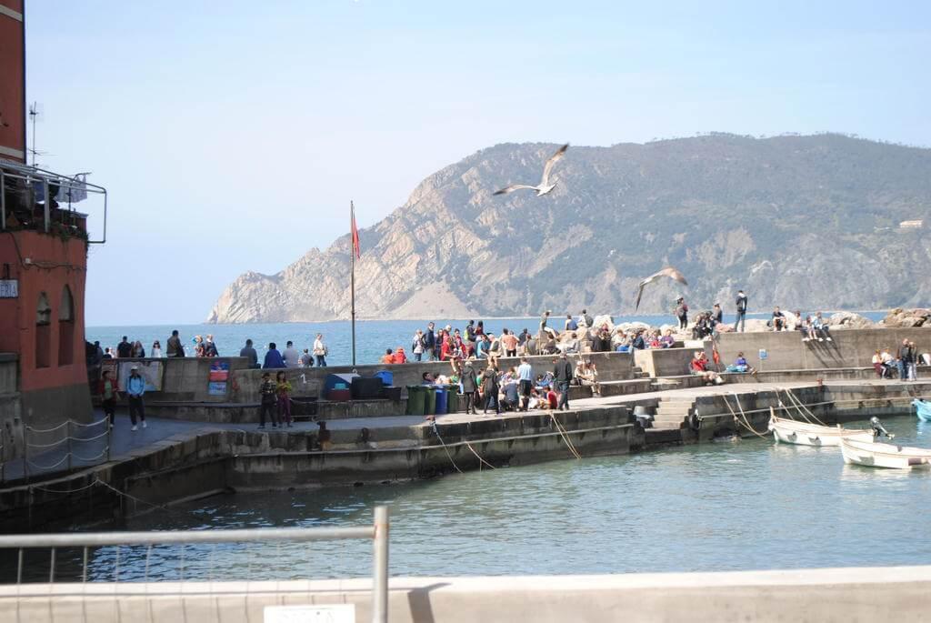 El puerto de Vernazza