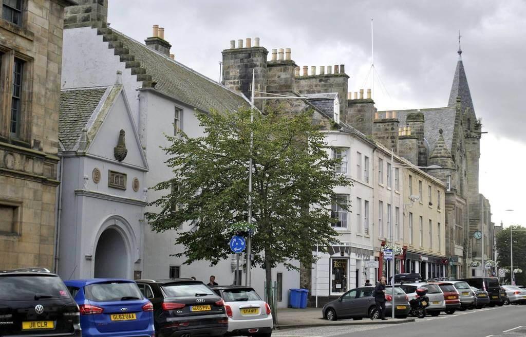 avenida principal de St Andrews