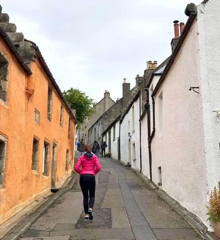 Caminando por Culross. Escocia