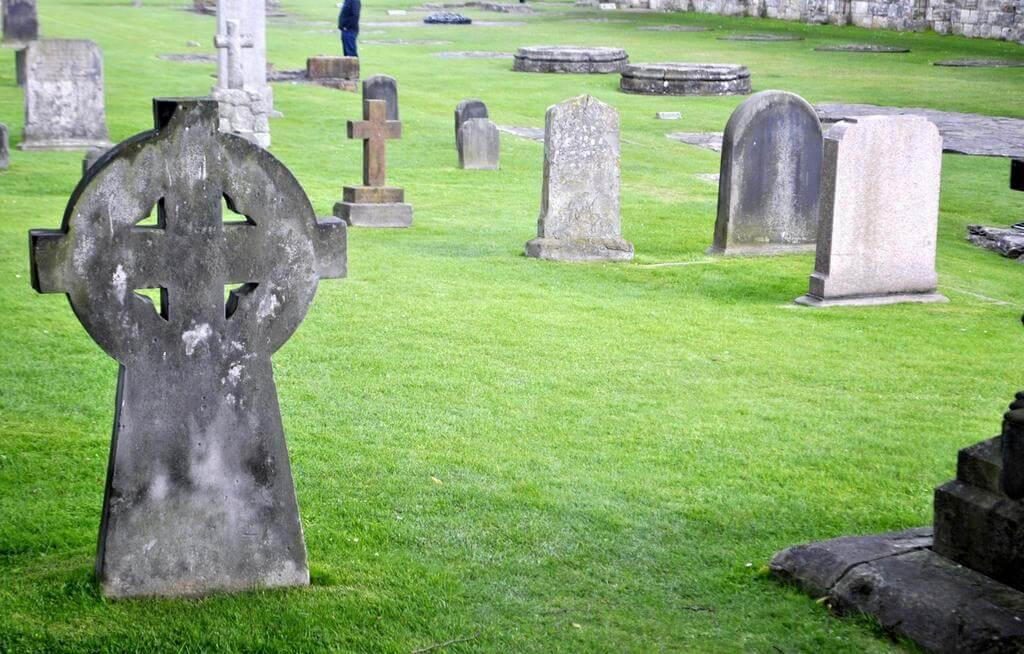 cementerio de la catedral de St Andrews