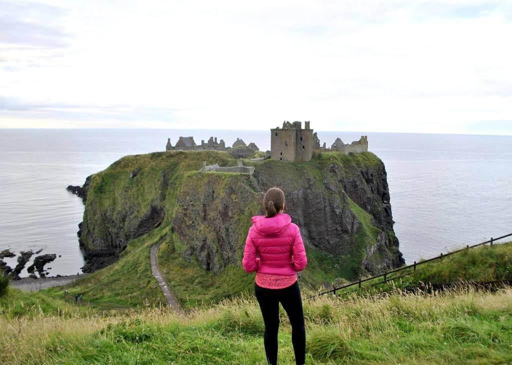 dunnottar Castle. Escocia