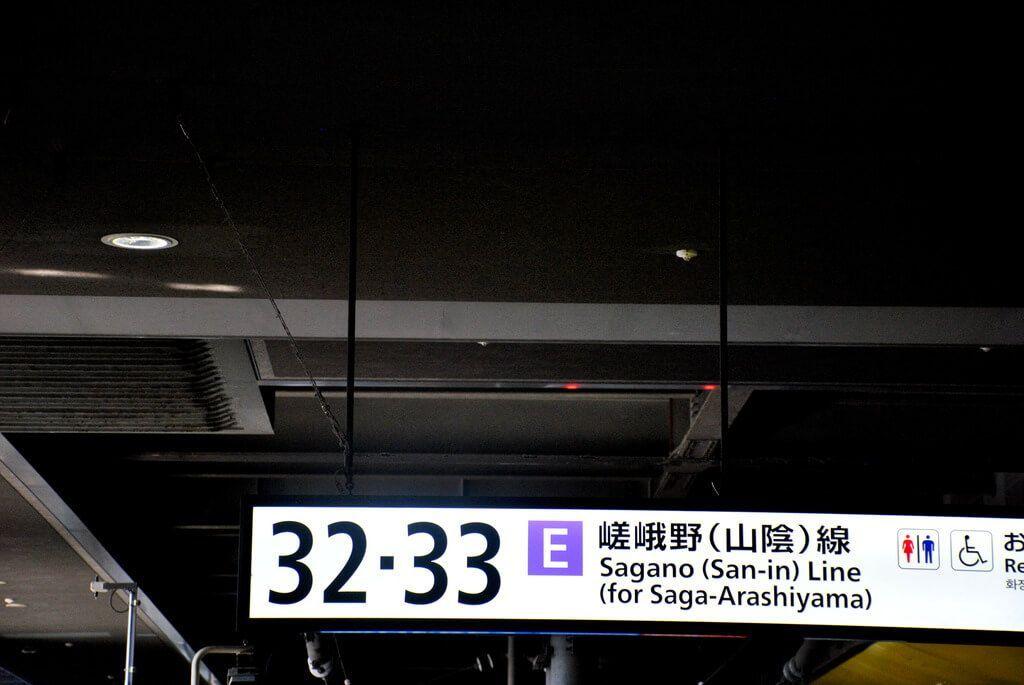 Línea Sagano Kioto