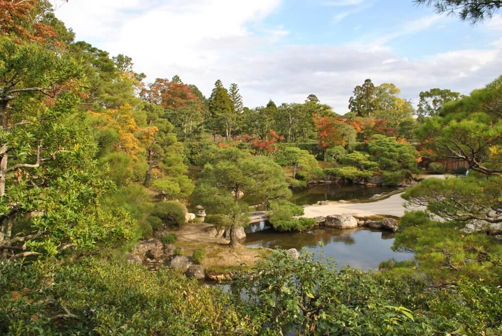jardín del templo Ninna-ji