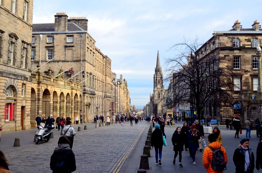 guía para visitar Edimburgo