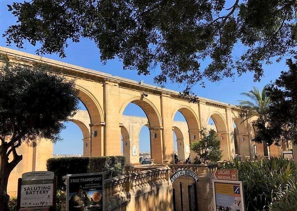 Barrakka Gardens La Valeta