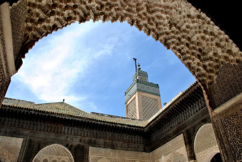 Mezquita bou Inania, Fez