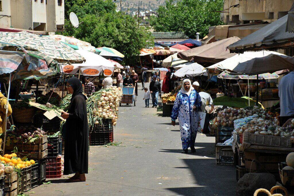 barrio andalusí Fez