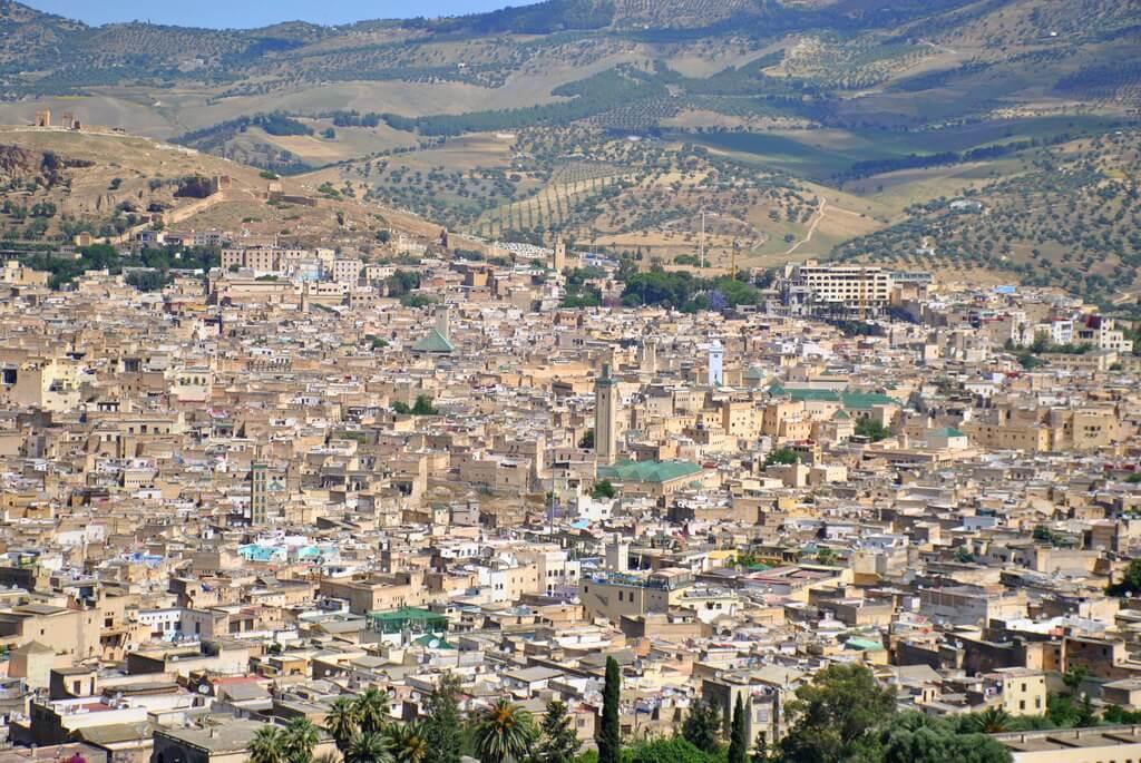 vistas de Fez desde Borj Sud