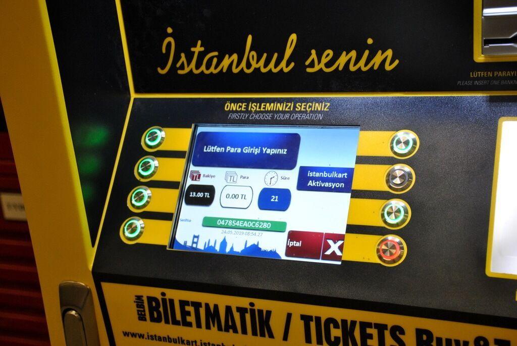 cómo usar la Istanbulkart