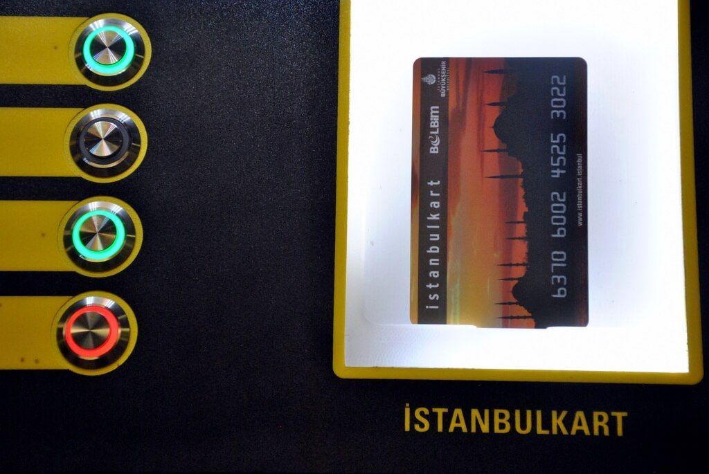 cómo usar la Istanbulkart en Estambul