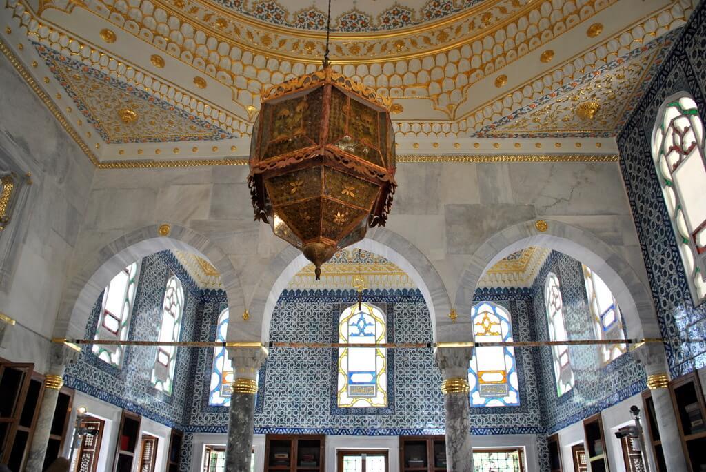 interior Palacio Topkapi