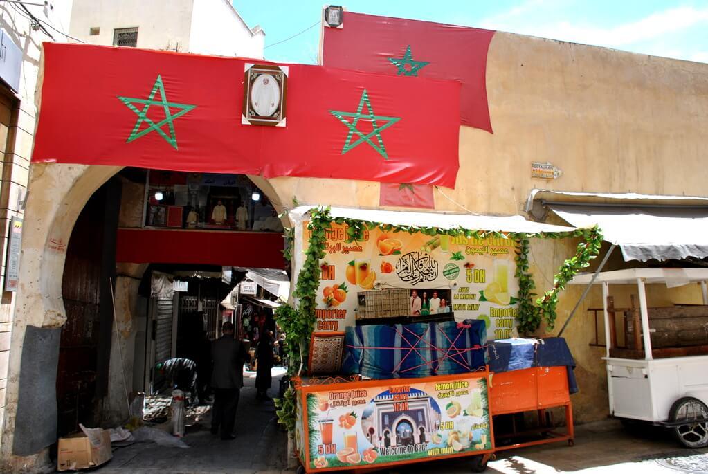 lugares donde comer en Fez