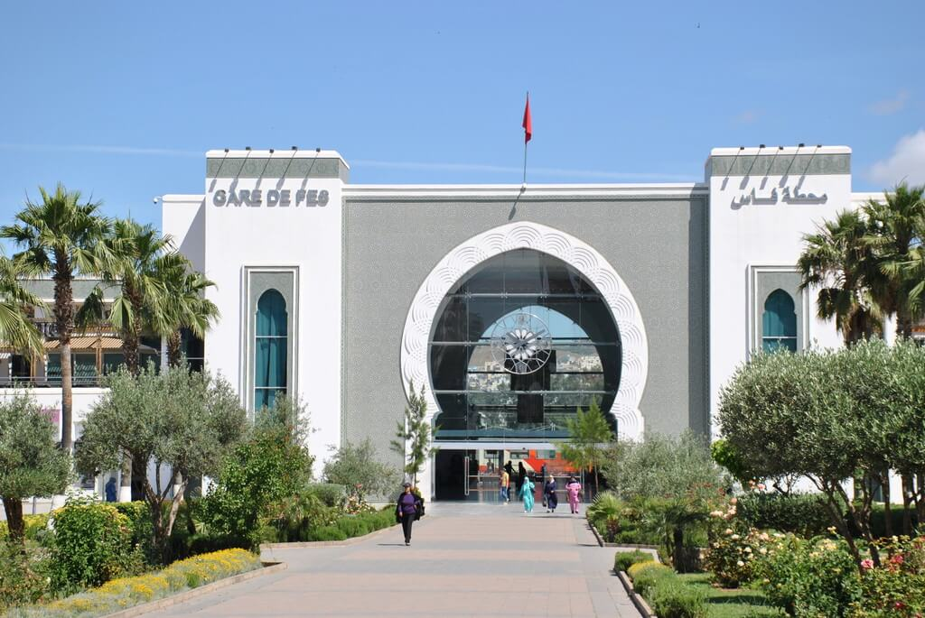 estación de trenes de Fez