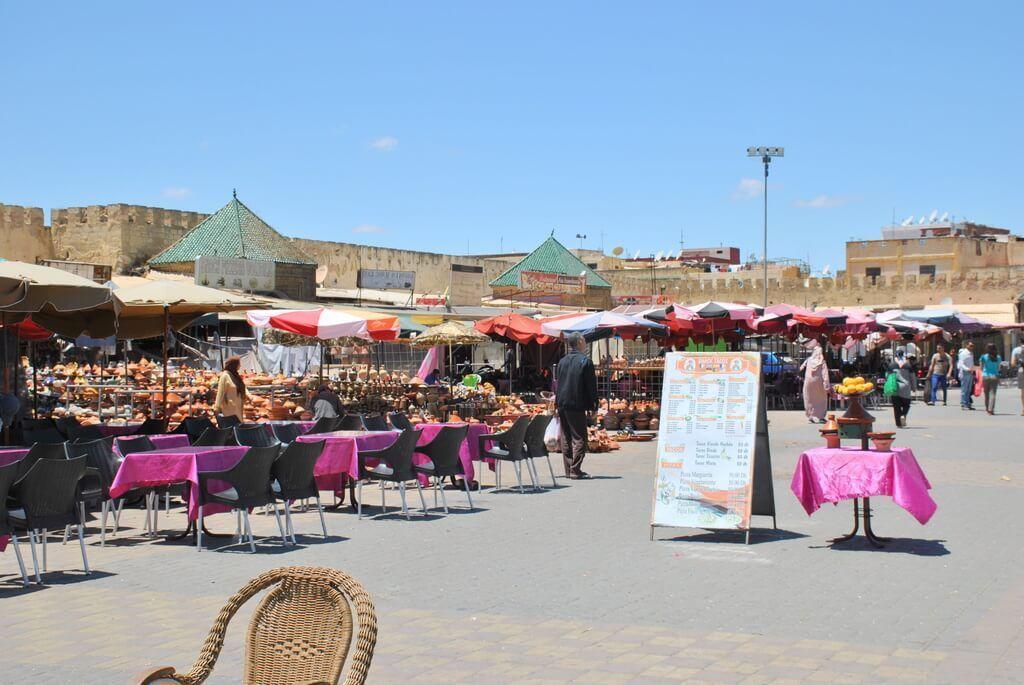 plaza El-Hedim, Meknes