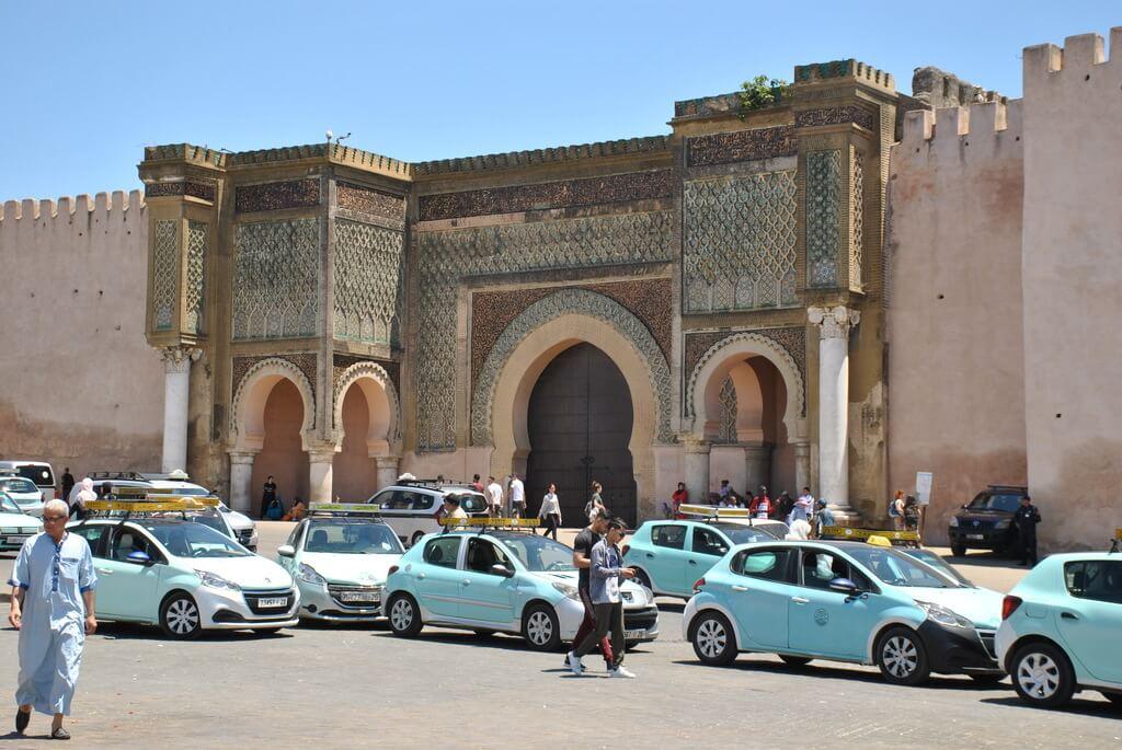 puerta Bab Mansour, Meknes