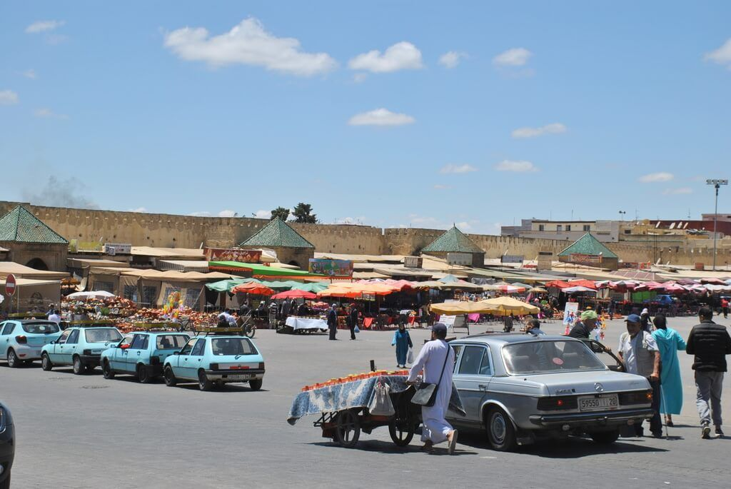 Plaza El - Hedim, Meknes