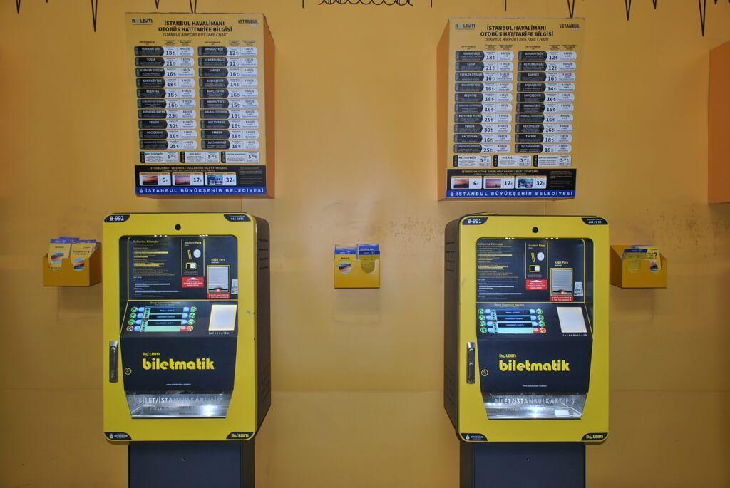 máquinas de venta de billetes de Havaist