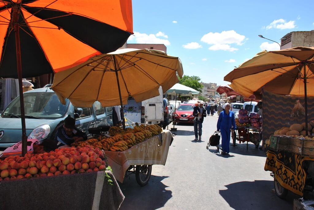 mercado del mellah de Meknes