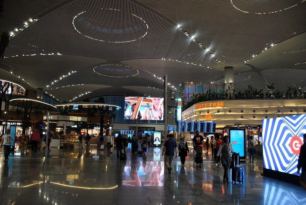 aeropuerto de Estambul