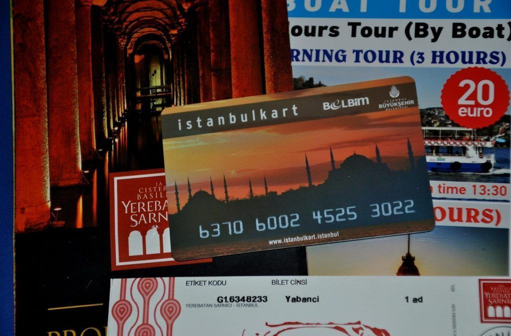 Istanbulkart tarjeta de transporte en Estambul