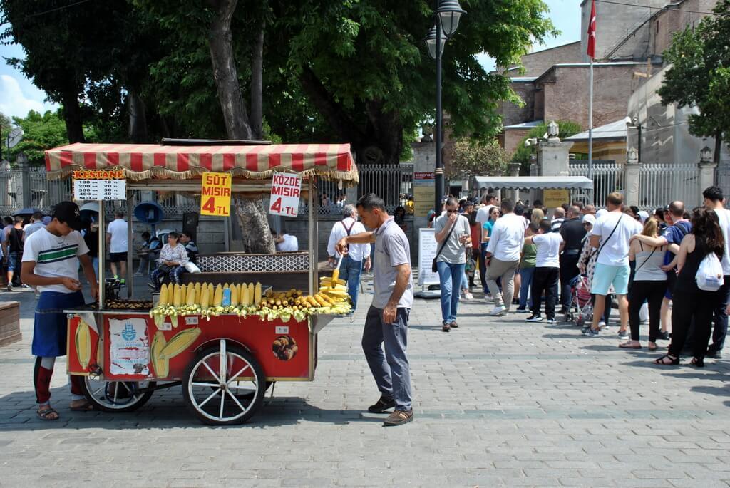 zona europea vieja de Estambul