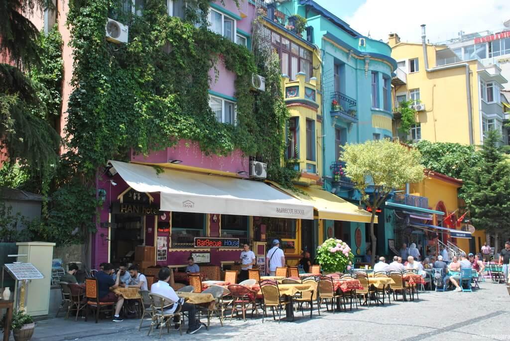 Calle Yerebatan, Estambul