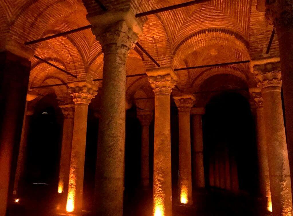 Cisterna de Yerebatan, Estambul