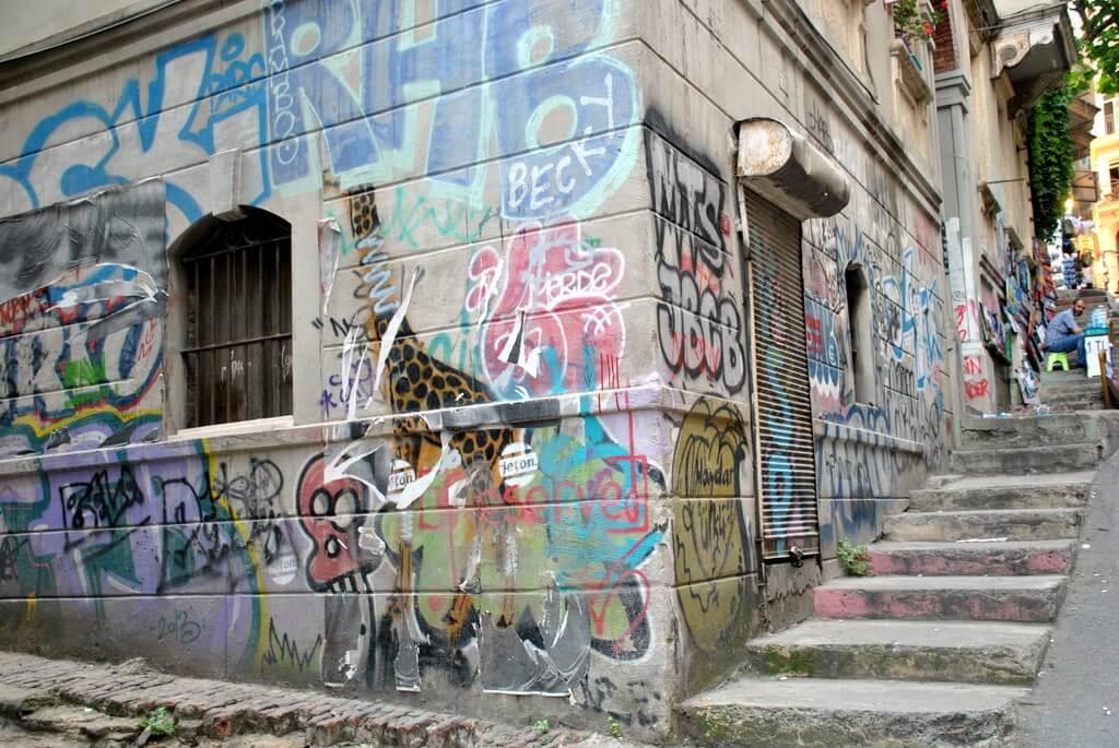 calles del barrio de Gálata