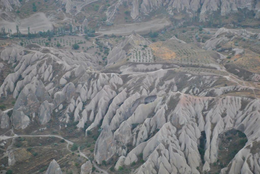 paisajes increíbles de Capadocia