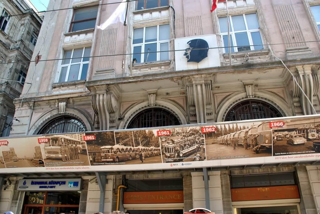 funicular Tünel, Estambul