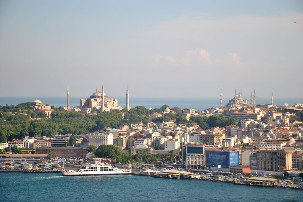 zona europea nueva de Estambul
